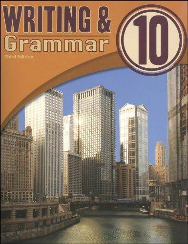 Writing   Grammar 10 Student Text 3rd Edition