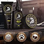 Bossman Essentials Beard Kit for Men - Beard Oil Jelly, Fortifying Conditioner Cream, Beard Balm - Grooming Growth Care… 6