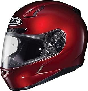 HJC CL-17 Full-Face Motorcycle Helmet (Wine, Large)