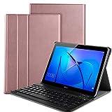 Huawei Mediapad T3 10 Teclado Estuche, IVSO Huawei Mediapad T3 10 [Teclado QWERTY] Wireless...