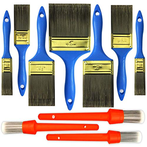 10 Piece Professional Paint Brush,Household Bristle Paint Brushes,Paint Brush Set,Paint Brush,Paint Brushes,Painting Brush,Tools,Tool kit,Tool Set,Wallpaper Brushes