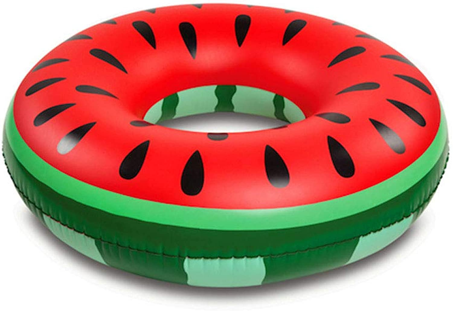 Swimming Ring Large Watermelon Swimming Ring Adult Inflatable Swimming Pool Seat Floating Row