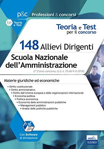148 Allievi Dirigenti Scuola Nazionale dell'Amministrazione