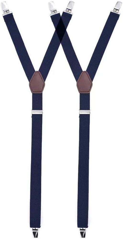 Booluee 2 Pcs Men Shirt Stays Garters Shirt Holder Straps Shirt Sock Suspenders