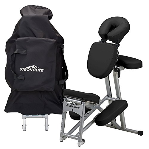 STRONGLITE Portable Massage Chair Ergo Pro II - Ultra-Strong, Lightweight, Folding Tattoo Spa...