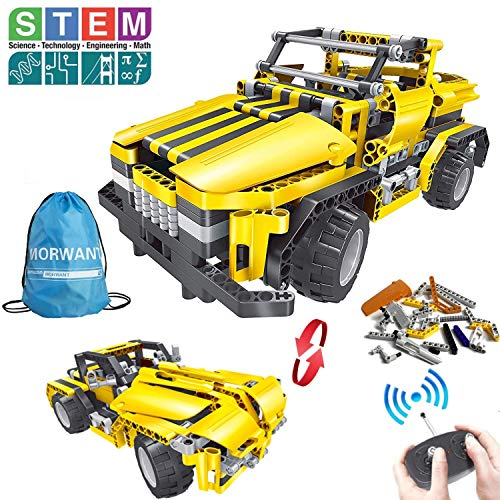 STEM Toys for Boys and Girls,426 Pieces Educational Engineering Building Blocks Kits for Kids 7 8 9 10+ Years Old RC Car Construction Set Christmas Birthday Gift for Age 6yr-14yr