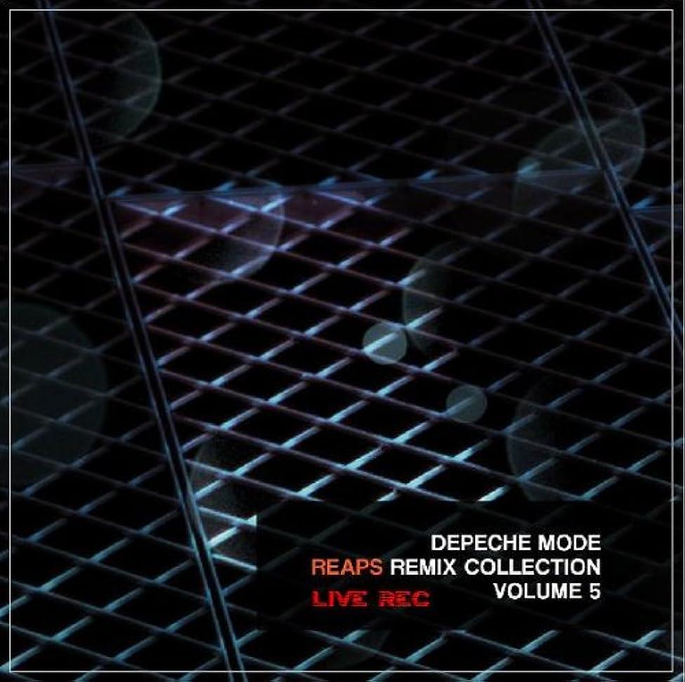 Depeche Mode - Reaps Live Rec Remix Collection Vol.5 (2012) (Cd Vinyl Look Retro Black Edition 2014)