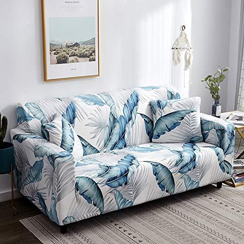 WXQY Fundas de Spandex para sofá para Sala de Estar, Funda elástica para sofá, Fundas para sillón, Protector de Muebles A20, 2 plazas