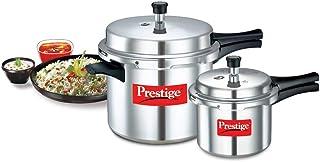 Prestige Popular Double Value Pack 10 L + 3 L Pressure Cooker