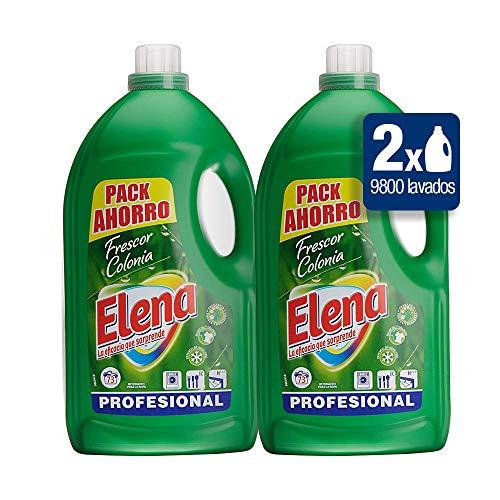 Elena - Formula Gel Profesional Para Limpiar, Pack De 2X4.9 Kg