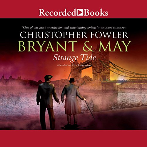 Bryant & May audiobook cover art
