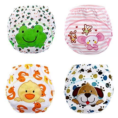 ARAUS ARAUS Baby Taininghosen Höschen Unisex Unterwäschen Cartoon 4er Pack