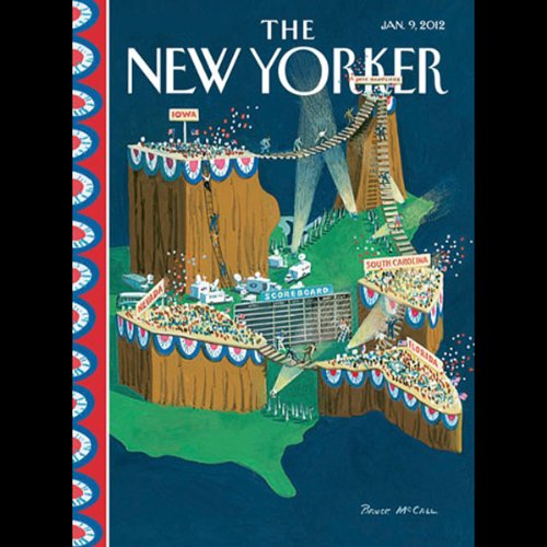 The New Yorker, January 9th 2012 (Peter Hessler, Ken Auletta, Simon Rich) audiobook cover art