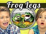Kids Vs. Frog Legs