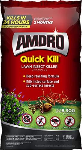 Amdro 100525725 Quick Kill Lawn Insect Killer Granules, Clear