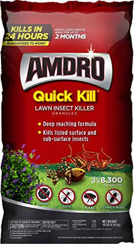 Amdro 100525725 Quick Kill Lawn Insect Killer Granules, Clear