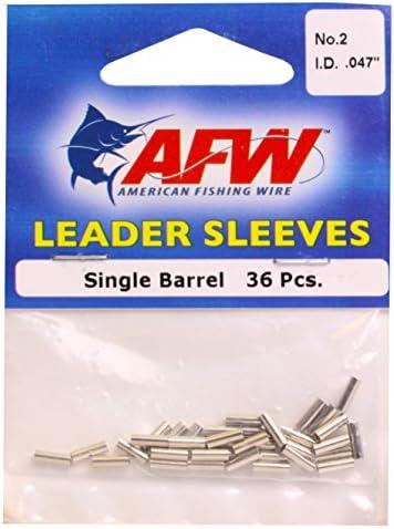 American Fishing Wire Single Barrel Leader Sleeves