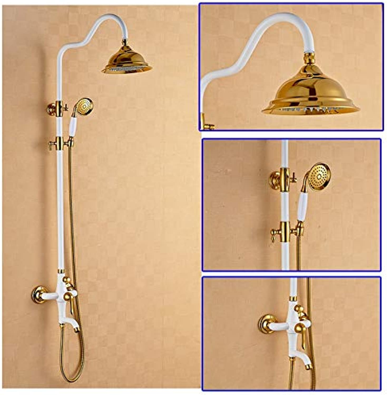 Free shipping rain shower faucet,brass Hot and cold bath faucet,waterfall bathroom faucets Shower Set