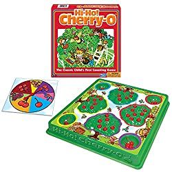 Hi-Ho Cherry-O best board games for toddlers.