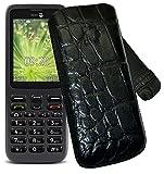 Original Suncase Tasche für Doro 5516 Leder Etui