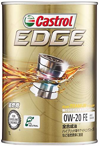 CASTROL EDGE エッジ 0W-20 SN GF-5 1L TITANIUM チタンFST 4輪用エンジンオイル