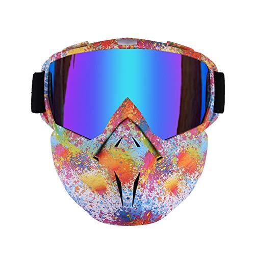 RONSHIN - Gafas de protección antivaho para Ciclismo, esquí, Motocicleta, Casco, Gafas...