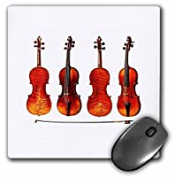 3drose LLC 8 x 8 x 0.25インチマウスパッド、Great Stradivarius Violin ( MP _ 62210 _ 1 )