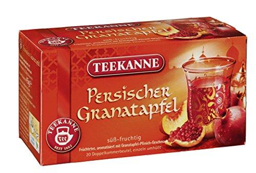 Teekanne Persischer Granatapfel 45g 20 Beutel