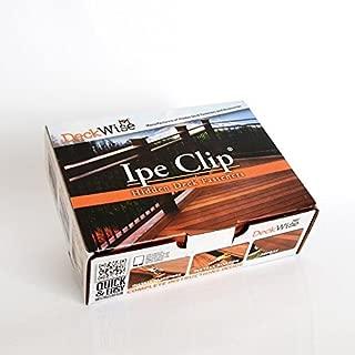 ipe decking clip system