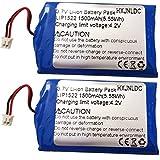 Batería de 3.7V 1500mah para reemplazo de batería del Controlador inalámbrico Sony PS4 (CUH-ZCT2U, CUH-ZCT2E, CUH-ZCT2A 2016 y Modelos posteriores) dualshock Playstation 4 Gen 2 Enchufe pequeño