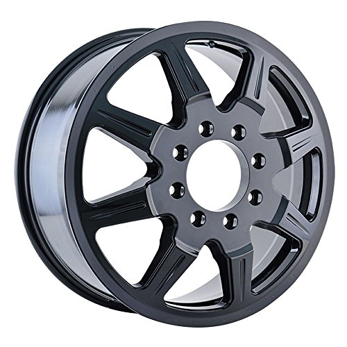 MAYHEM MONSTIR (8101) BLACK Wheel with Inner (0 x 6.75 inches /8 x 170 mm, 102 mm Offset) -  8101-9670BI