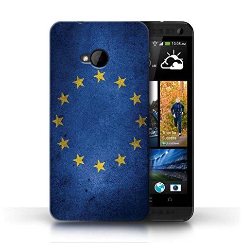 Stuff4® hoes/case voor HTC One/1 M7 / EU vlag patroon/Verenigd Koninkrijk/Britse trots collectie