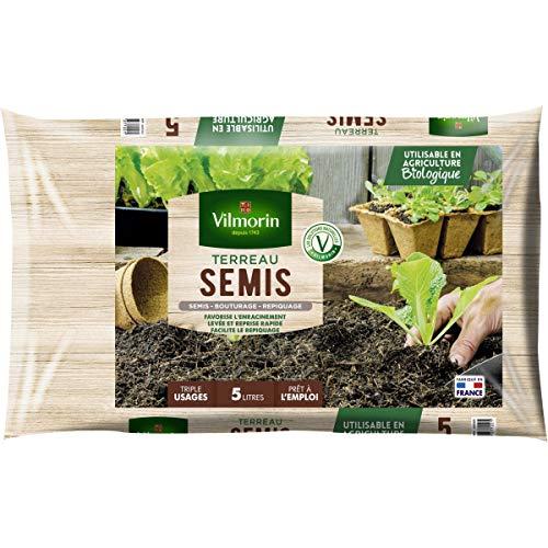 Vilmorin - Terreau semis bouturage repiquage sac de 5 litres