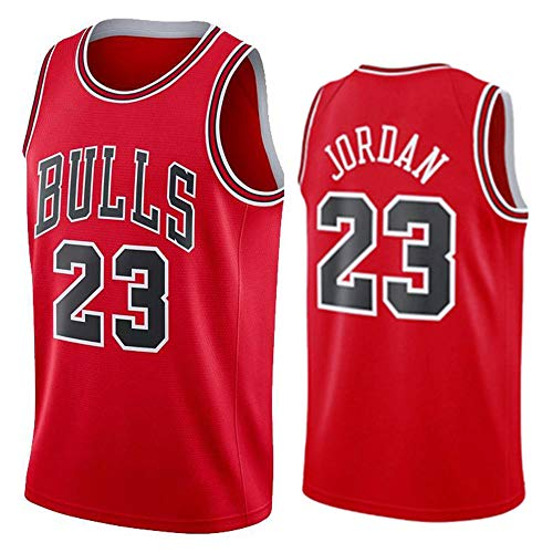 Herren Frau Basketball Swingman Jersey NBA Michael Jordan 23# Chicago Bulls Trikot Summer Classic Stickerei Ärmellose Weste