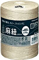 Kokuyo Hohi-35W Hemp Cord (For Hobby) White Color, 1666.4 ft (480 m) Roll