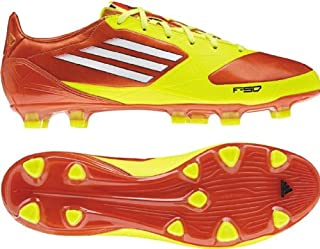 adidas F30 TRX FG Men's Soccer Cleats (9.5, High Energy/White/Electrify)