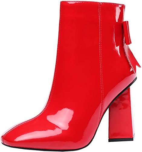 Vaneel Femme vabtst Square-ToeCM 9.5 Fermeture Fermeture Fermeture éclair Bottes Chaussures a95