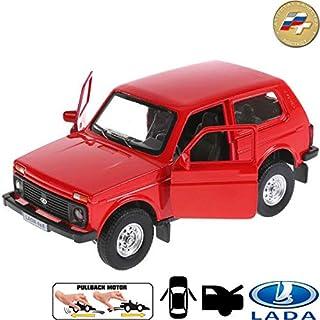Diecast Metal Model Car Lada 4x4 VAZ 2121 Niva Russian Toy Die-cast Cars