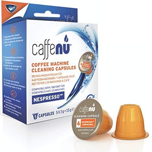 Caffe Nu–Cápsulas limpiadoras para máquina de café Nespresso - 5 Unidades