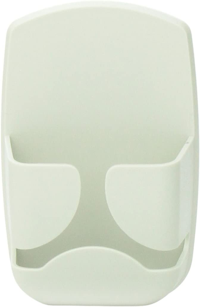 Aidata MH004 Monitor Mount Mouse Holder, Light Gray Color, Organizes The Desktop by Storing Mouse When not in use, Can be Mounted on The Sides of Computer Monitors