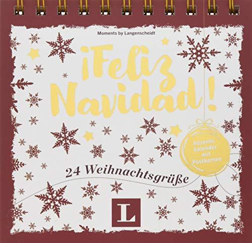 ¡Feliz Navidad! - Adventskalender mit Postkarten: 24 Weihnachtsgrüße (Postkarten-Aufstellbuch Weihnachten)