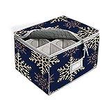 Stemware - Caja de almacenamiento acolchada para copas de champán o copas...