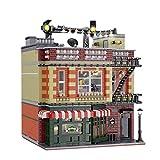 Juegos De Construcción De Casas Modulares, Juego De Construcción para Central Perk Big Bang Theory Modular, 4638 Piezas De Bloques Compatibles con Lego,El Modelo De Construcción No Es Creado por Lego