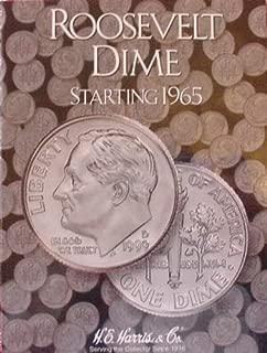 Harris Roosevelt Dime 1965- Current Coin Folder 2685
