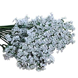 Artificial and Dried Flower Simulation Gypsophila Silk Flower Fake Flower Family Wedding Flowers Party Decoration K9A6