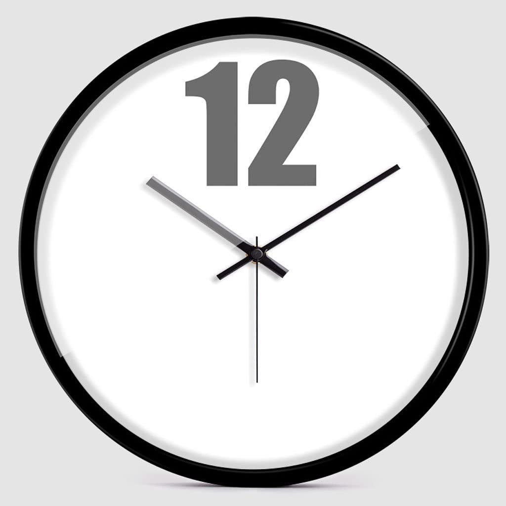 Plum Open Wall Clock Battery Atlanta Mall Solid online shopping Operated Round Color Si