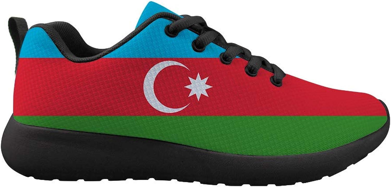 Owaheson Cushioning Sneaker Trail Running shoes Mens Womens Azerbaijan Flag