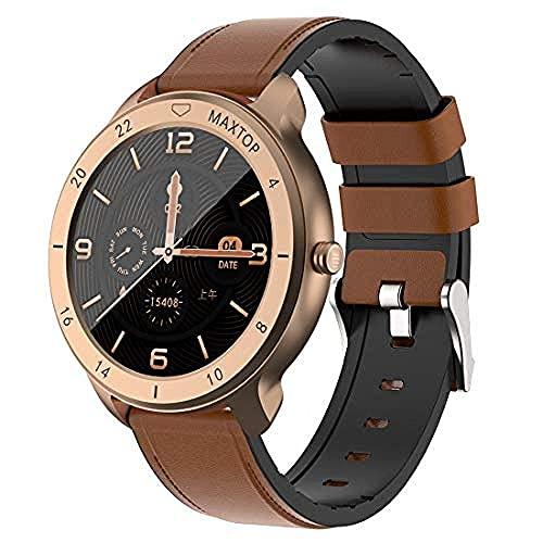 Smartwatch, Fitness Tracker Smart Watch, Smart Watch IP68 a Prueba de Agua, Fitness Tracker con Ritmo cardíaco Step Sleep Tacker Bluetooth Smartwatch para Mujeres Hombres