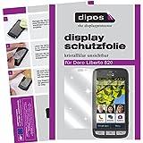 dipos I 2X Schutzfolie klar kompatibel mit Doro Liberto 820 Folie Bildschirmschutzfolie