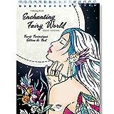Libro Colorear Adultos de Colorya - El Encantador Mundo de L